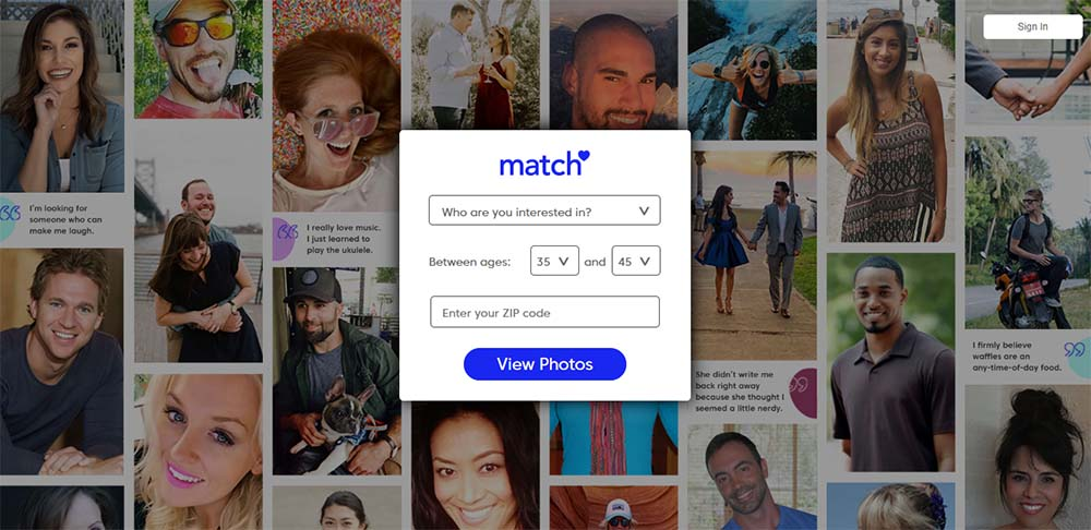 match.com for poly dating - review