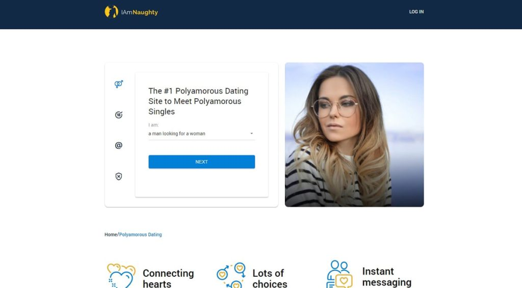 IAmNaughty.com for poly dating