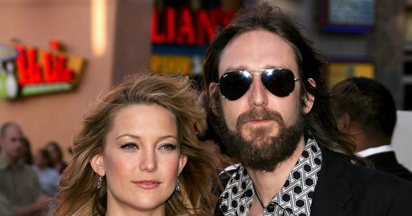 Cate Hudson and Chris Robinson