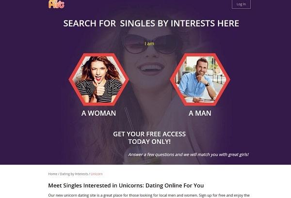Flirt.com for unicorn dating