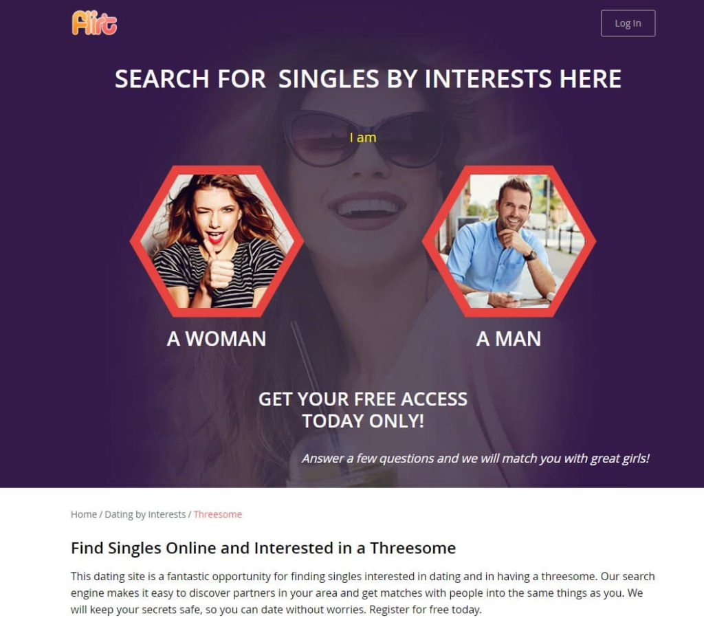 flirt threesome