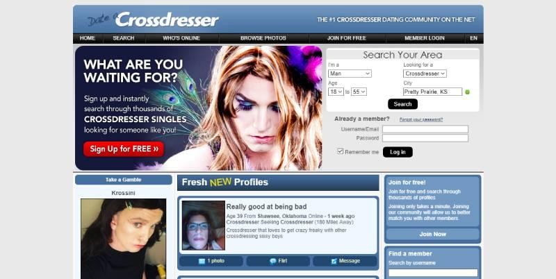 Crossdresser Sign Up